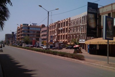 Ouagadougou (file photo).