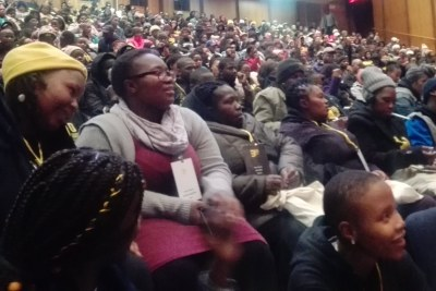 Hundreds of learners and Equal Education members are attending the organisations's four-day congress at Wits University's campus in Parktown.