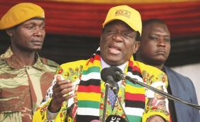 Emmerson Mnangagwa élu au premier tour au Zimbabwe