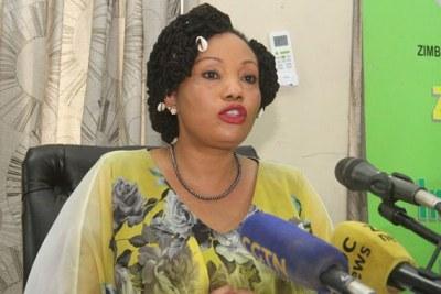 Zimbabwe Electoral Commission Chairperson Priscilla Chigumba.