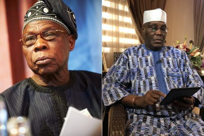 God Will Never Forgive Me If I Support Atiku for President - Obasanjo