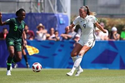 Les débuts au Mondial de football féminin U20 en France sont compliqués pour les représentants africains. Après le Ghana dimanche, le Nigeria vient d'achever son match d'ouverture sur une défaite 0-1 contre l'Allemagne.