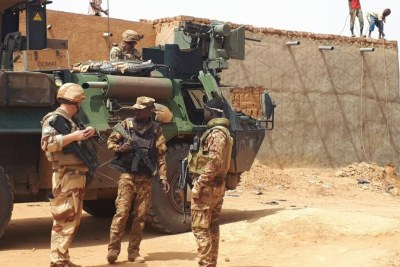 Mixed patrol in Mali (file photo).
