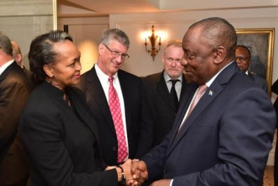 CCA hosts His Excellency President Cyril Ramaphosa on the sidelines of UNGA