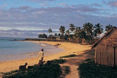 Les habitants de l'archipel des Comores, dans l'océan Indien, doivent s'adapter au changement climatique.