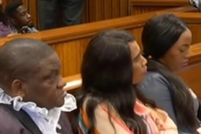 Timothy Omotoso and his co-accused Lusanda Sulani and Zukiswa Sitho.