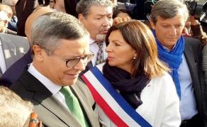 Algérie - Commémoration du massacre du 17 octobre 1961 à Paris