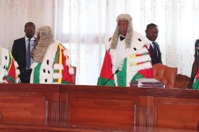 Clément Atangana le président de la Cour constitutionnelle du Cameroun