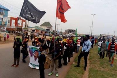 Shiite members (file photo).
