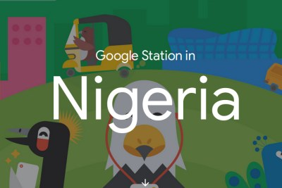 Google Station's web page about its presence in Nigeria.
