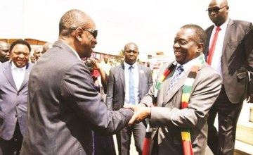 Help Me Ditch Sanctions, Mnangagwa Calls On African Leaders