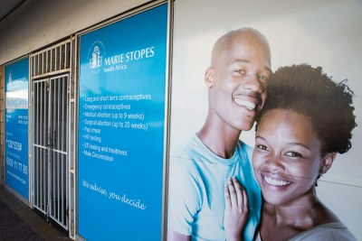 Marie Stopes clinics provide many reproductive health services, including abortion.