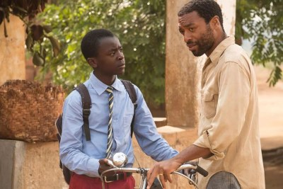 Oscar-nominated Ejiofor plays the father of 13-year-old, self-educated inventor Kamkwamba, played by newcomer Maxwell Simba, as his family and community faces famine.