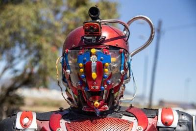 Bridgetown Man Makes Robots from Scrap
