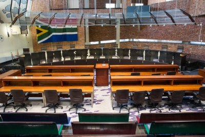 Inside the Constitutional Court (file photo).