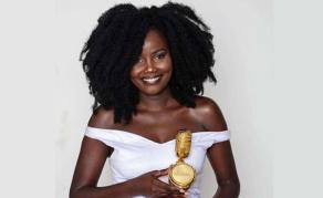 Songbird Sandra Scoops All Africa Award for Dark-Skin Girl Anthem