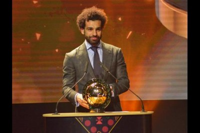 Mohamed Salah has emerged as the African Player of the Year 2018.