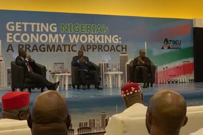 Atiku Abubakar, Nigeria's 2019 presidential candidate.