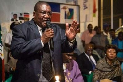 New Renamo President Ossufo Momade.