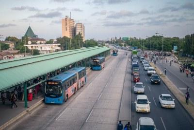 Dar es Salaam's Rapid Bus System (file photo).