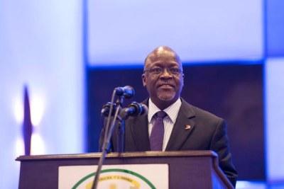 Président John Magufuli.