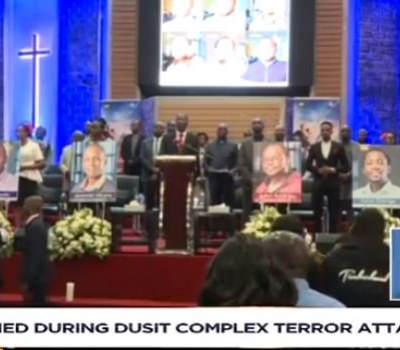 Victims of Nairobi Hotel Attack Honoured