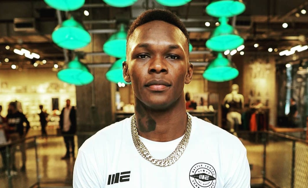 Nigeria, a Great Sporting Nation, Says UFC Middleweight Interim Champion Israel Adesanya