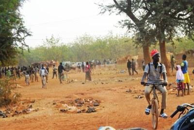 Kongoussi town in Burkina-Fasso