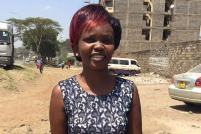 Caroline Mwatha Ochieng, a founder member of Dandora Community Justice Centre. She has been reported missing.