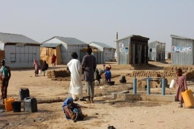 Many Nigerians in the northeast have fled Boko Haram attacks and now live in refugee camps.