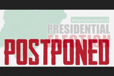 How Nigerians reacted to postponement of elections.