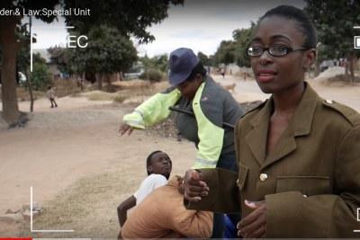Gonyeti, Maggie arrested over skit in police uniform.