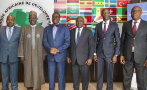 La BAD reçoit les gouverneurs de la Banque pour l'Afrique centrale