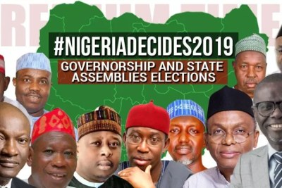 20 governors-elect announced by INEC so far.