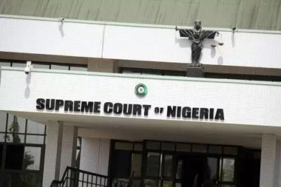 Supreme Court of Nigeria (file photo).