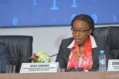 Mme Vera Songwe, secrétaire exécutive de la CEA
