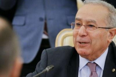 Ramtane Lamamra, le vice-Premier ministre algérien