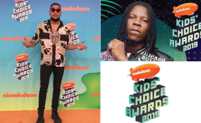 Ghana's Stonebwoy, South Africa's AKA Shine at Kids Choice Award