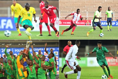 COSAFA Cup teams (file photo).