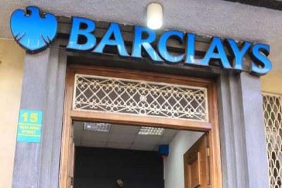 A Barclays Bank of Kenya branch in Nairobi.