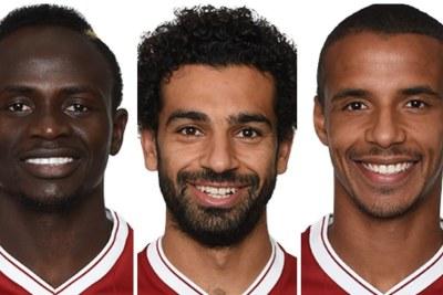 Le Sénégalais Sadio Mane, l'Egyptien Mohammed Salah et le Camerounais Joël Matip, tous des pièces maitresses de Liverpool Football Club