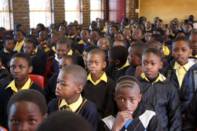 South African schoolchildren (file photo).