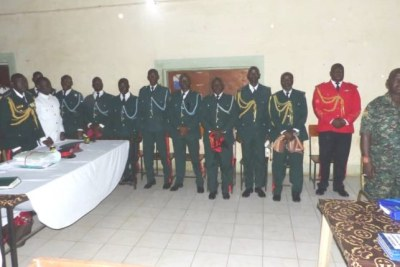 Soldiers accused of treason