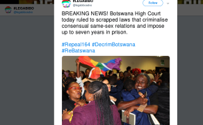 Celebrations and Hope for Equality After Historic Botswana Ruling