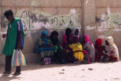 Photo d'une rue en Mauritanie