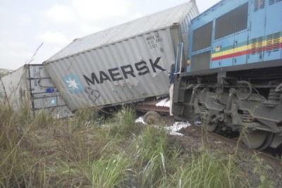Collision de trains au Congo Brazzaville