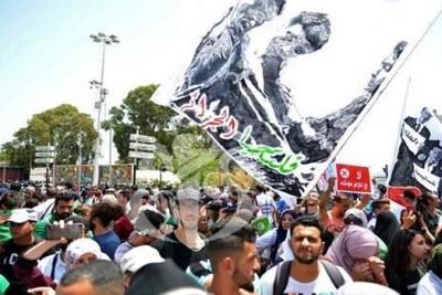 Marche des étudiants en Algérie