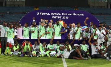 Le Nigeria se console avec la médaille de bronze de la CAN 2019