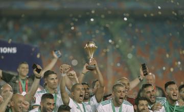 L'Algérie décroche son deuxième titre continental