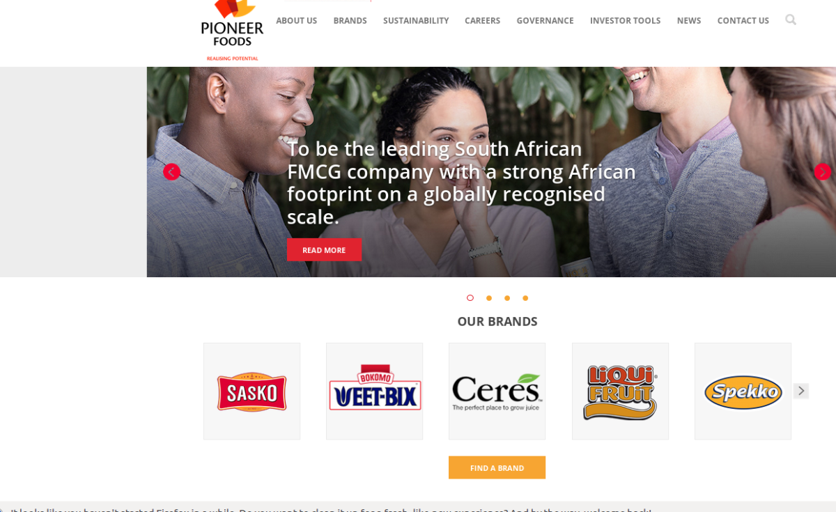 South Africa: PepsiCo aims at African growth thanks to the